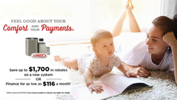 Save $Hundreds With Spring Specials From Lennox