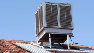 (Evaporative) Cooler Blowing Hot Air?