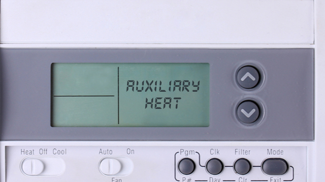 Why Does My Thermostat Say Auxiliary Heat On?