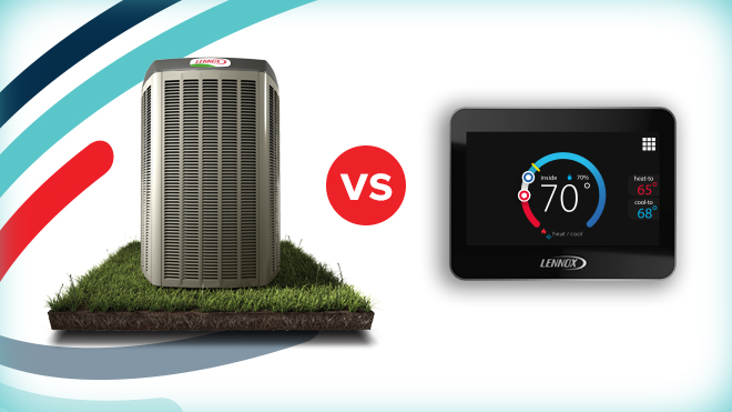 Your Air Conditioner Unit Vs. Your Thermostat