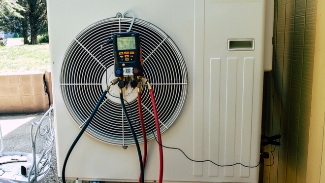 How Is Split System Air Conditioning Serviced?