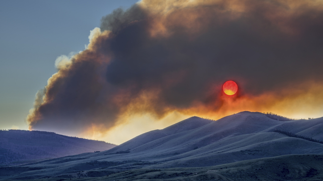 How Breathing In Wildfire Smoke Affects The Body